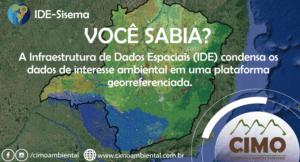 Você Sabia? Infraestrutura de Dados Espaciais – IDE