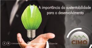 A importância da sustentabilidade para o desenvolvimento